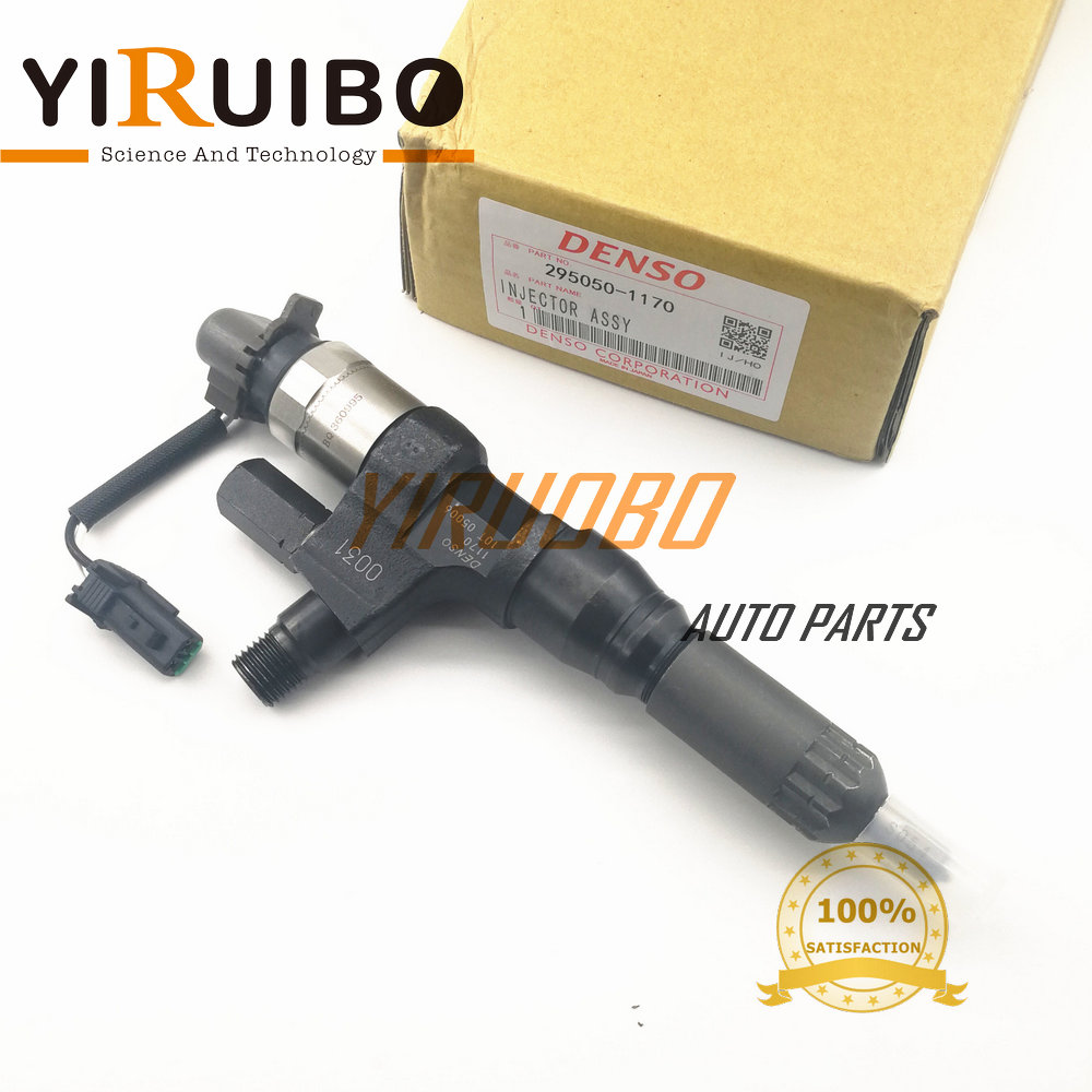 GENUINE AND BRAND NEW DIESEL FUEL INJECTOR 295050-1170, 095000-6750, 095000-6751, 095000-6752, 095000-6754, 23670-E0030